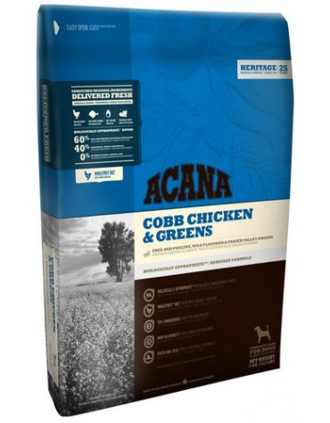 Acana Adult Cobb Chicken & Greens All Breeds 340g