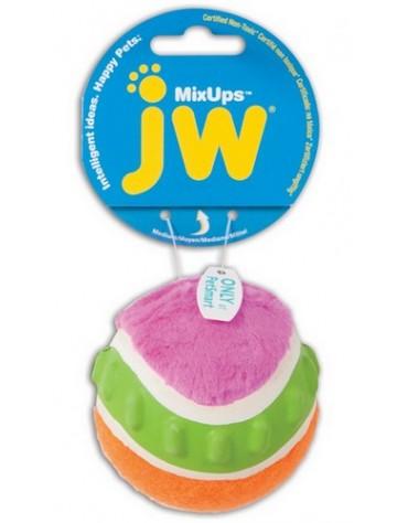 JW Pet Mixups Ribbed Ball Medium [31028]