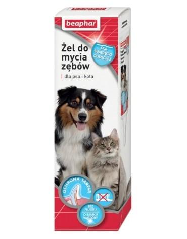 Beaphar Żel do mycia zębów dla psa i kota 100ml