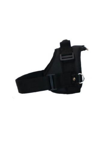Carpatus Szelki XL czarne z pasem bezpieczeństwa