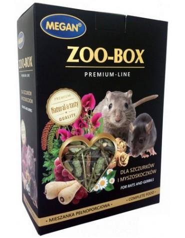 Megan Zoo-Box dla szczura i myszoskoczka 550g
