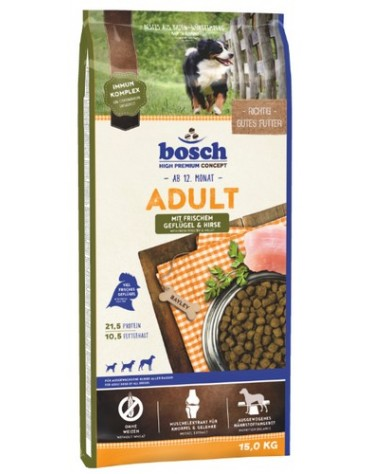 Bosch Adult G&H Drób i Proso 15kg