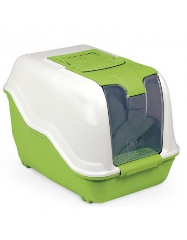 MPS Toaleta Netta Maxi biało-zielona 66x50x47cm