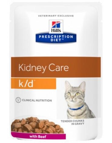 Hill's Prescription Diet k/d Feline Wołowina saszetka 85g