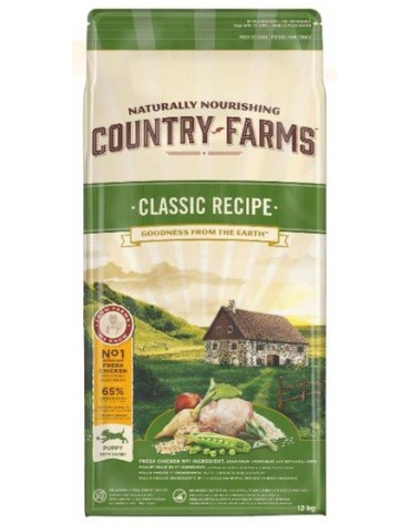Country Farms Classic Puppy 12kg