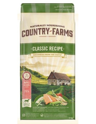 Country Farms Classic Adult Salmon 12kg
