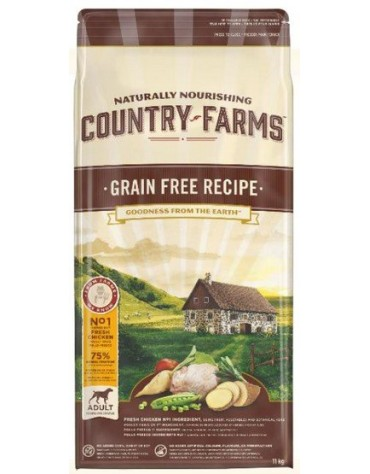 Country Farms Grain Free Adult Chicken 11kg