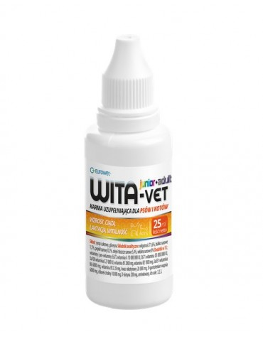Wita-Vet Junior + Adult dla kota i psa krople 25ml