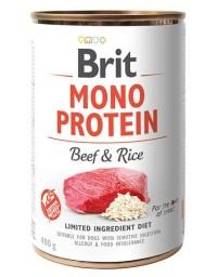 Brit Mono Protein Beef & Rice puszka 400g