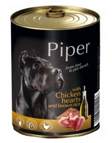 Piper Pies Serca kurczaka i ryż puszka 800g