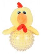 Flamingo Wilco TPR kurczak żółty 16cm [519504]