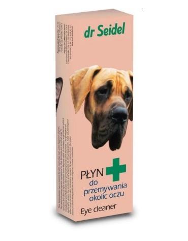 Dr Seidel Płyn do przemywania okolic oczu dla psów i kotów 75ml