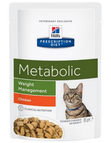 Hill's Prescription Diet Metabolic Feline saszetka 85g