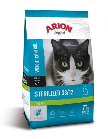 Arion Original Cat Steril Chicken 7,5kg
