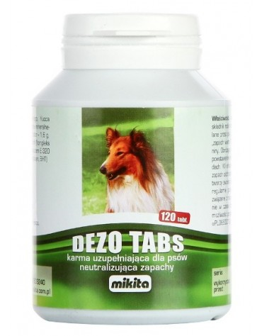 Mikita Dezotabs 120 tabletek - neutralizuje zapachy