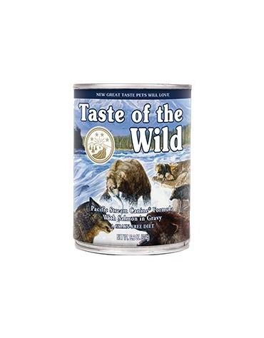 Taste of the Wild Pacific Stream Canine z mięsem z łososia puszka 390g