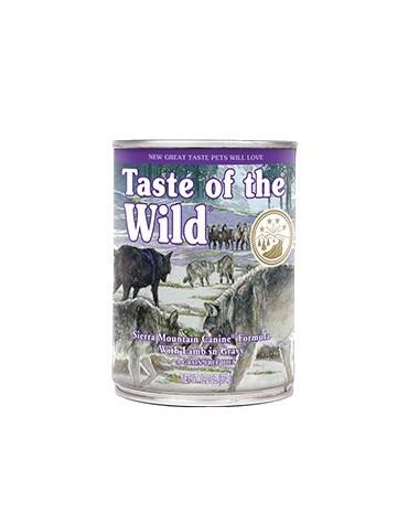 Taste of the Wild Sierra Mountain Canine puszka 390g