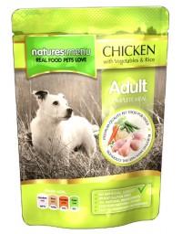 Natures Menu Pies - kurczak warzywa i ryż saszetka 300g