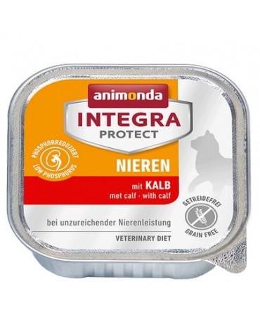 Animonda Integra Protect Nieren dla kota - z cielęciną tacka 100g
