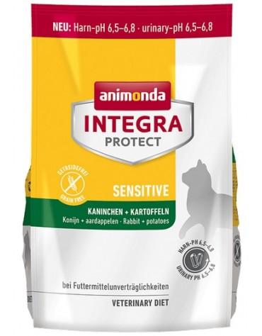 Animonda Integra Protect Sensitive Dry dla kota - z królikiem i ziemniakami 1,2kg