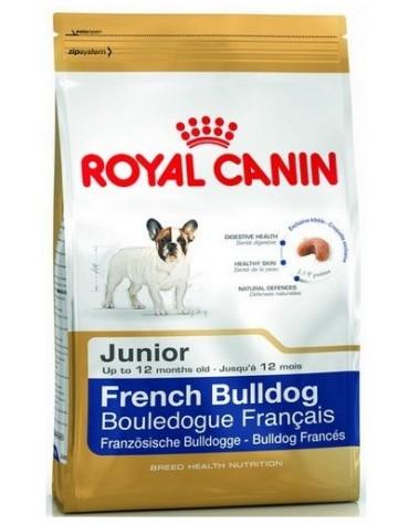 Royal Canin French Bulldog Puppy/Junior karma sucha dla szczeniąt do 12 miesiąca, rasy buldog francuski 10kg