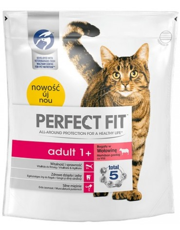 Perfect Fit Adult 1+ wołowina 750g