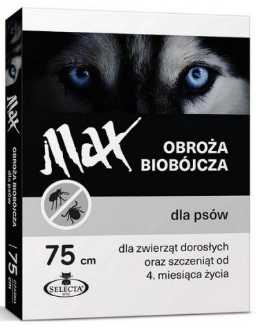 Selecta HTC Obroża Max biobójcza dla psa przeciw pchłom i kleszczom 75cm czarna [SE-7123]