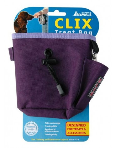 Clix Torebka na przysmaki purpurowa