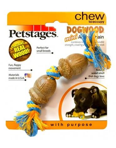 Petstages DogWood żołędzie na sznurku 18cm PS205
