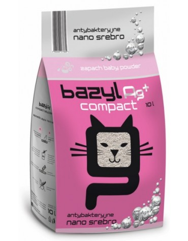 Bazyl Ag+ Compact Baby Powder 10L