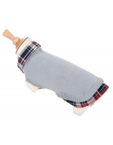 Zolux Sweterek z kołnierzykiem 25cm szary [410930GRI]