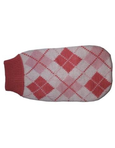 """Doggy Fashion Golf 25cm/8"""" różowy ze wzorem"""