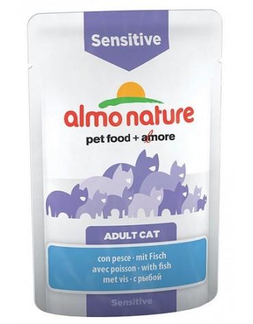 Almo Nature Sensitive Kot - Ryba saszetka 70g [5294]