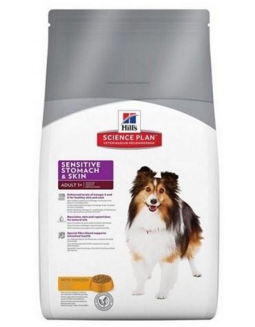 Hill's Adult Sensitive Stomach & Skin Canine 12kg