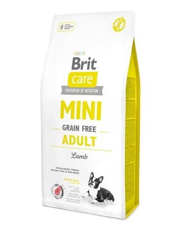 Brit Care Grain Free Mini Adult Lamb 2kg