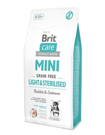 Brit Care Grain Free Mini Light & Sterilised 7kg