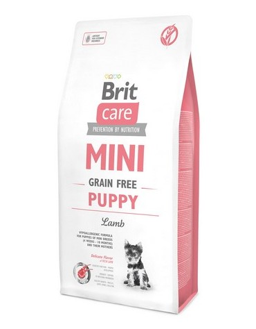 Brit Care Grain Free Mini Puppy Lamb 2kg
