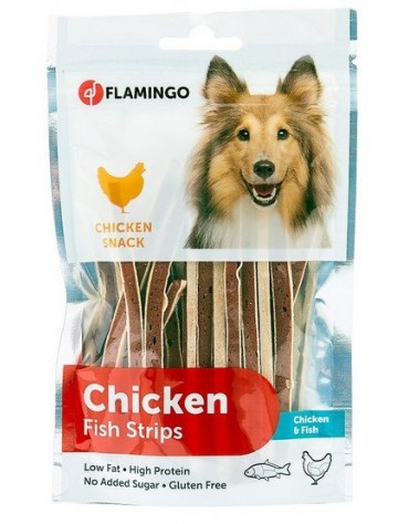 Flamingo Chick'N Fish Strips 85g