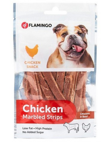 Flamingo Chick'N Marbled Strips 85g
