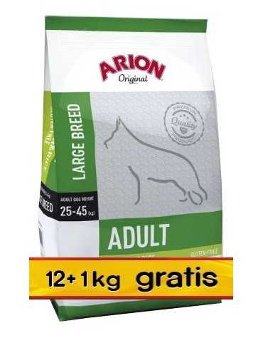 Arion Original Adult Large Chicken & Rice 13kg (12+1kg gratis)