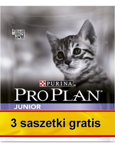 Purina Pro Plan Cat Junior Optistart 400g + saszetki 3x85g