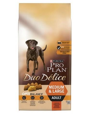 Purina Pro Plan Duo Delice Adult Medium & Large Wołowina & Ryż 10kg