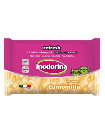 Inodorina Chusteczki Camomilla - zapach rumianku 15szt