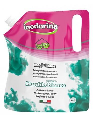 Inodorina Płyn do mycia Muschio Bianco - białe piżmo 1L