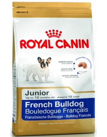 Royal Canin French Bulldog Puppy/Junior karma sucha dla szczeniąt do 12 miesiąca, rasy buldog francuski 1kg