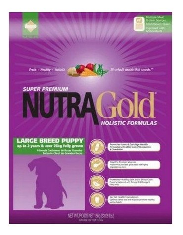 Nutra Gold Holistic Large Breed Puppy Dog 3kg