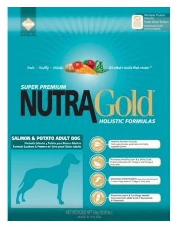 Nutra Gold Holistic Salmon & Potato Adult Dog 3kg