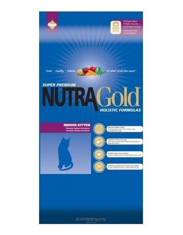Nutra Gold Holistic Indoor Kitten Cat 1kg