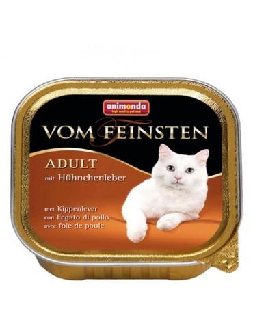 Animonda vom Feinsten Cat Adult z Wątróbką Kurczaka tacka 100g