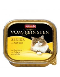 Animonda vom Feinsten Cat Senior z Drobiem tacka 100g